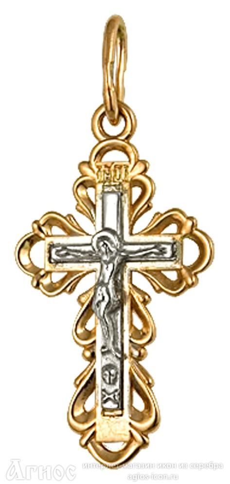 Нательный крест женский